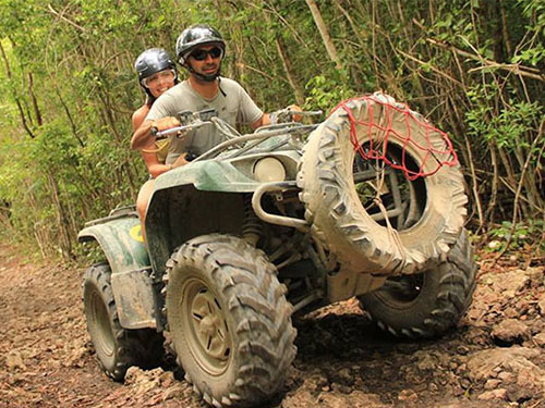 Live an exciting day of adventure in the Cancun Mayan Jungle.