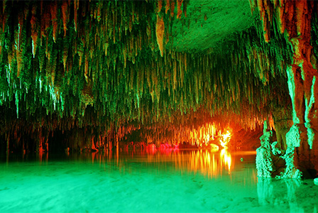 Live a mystical experience in the underground world of the Riviera Maya.