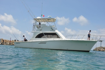 Fishing Charter 35 ft boat